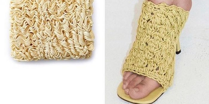 Bottega Veneta's New Shoes Look Just Like Instant Ramen